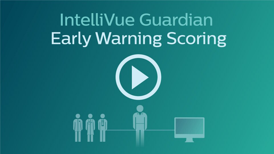 Spot subtle signs of patient deterioration sooner. With IntelliVue Guardian, EWS are viewable right in the IntelliVue MP5SC bedside spotcheck monitor.