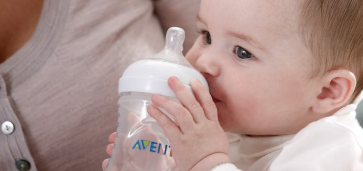 Philips AVENT - Introducing a bottle