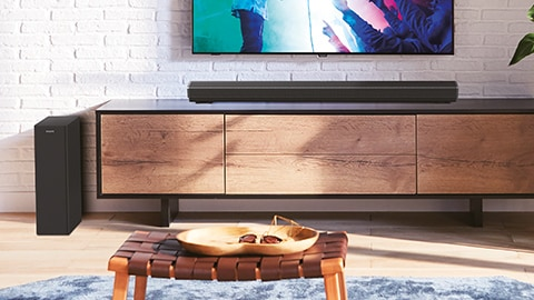 Philips wireless soundbar with HDMI