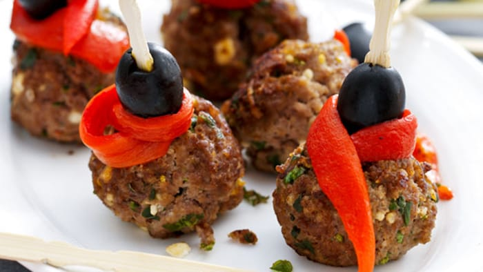 Meatballs with Feta