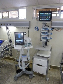 ventilator and patient monitor